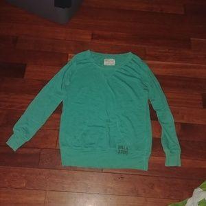 Billabong blueish green pullover Medium M